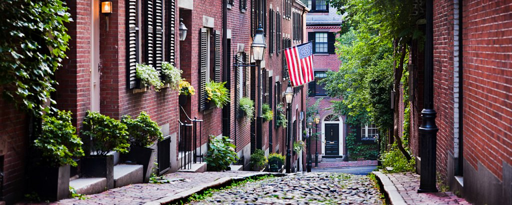 Acorn Street à Boston